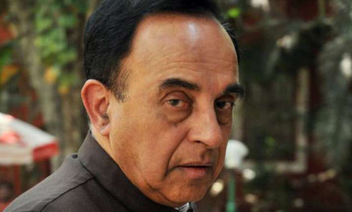 centre asks sc to restrain swamy from making statements