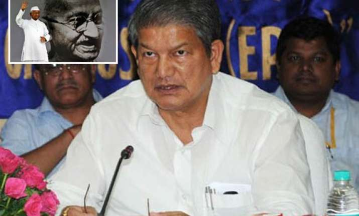 centre has initiated dialogue process with team anna rawat