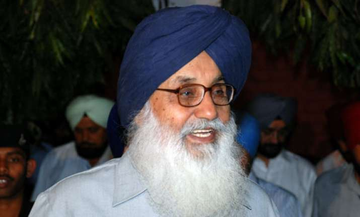centre usurping state subjects cms helpless says badal