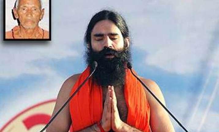 centre asks cbi to probe disappearance of swami ramdev s