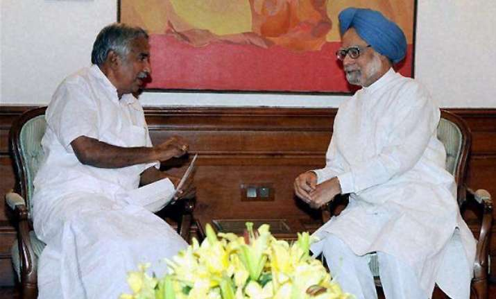 chandy meets pm on mullaperiyar issue