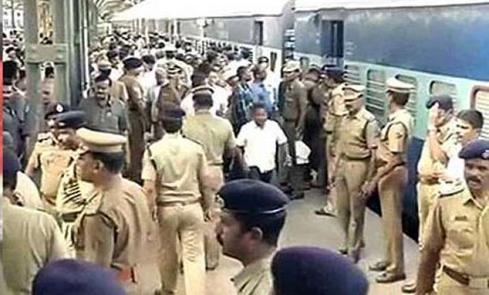 chennai blasts security scaled up for vital installations