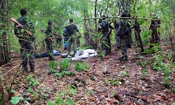 chhattisgarh 2 naxals killed in fierce encounter with police