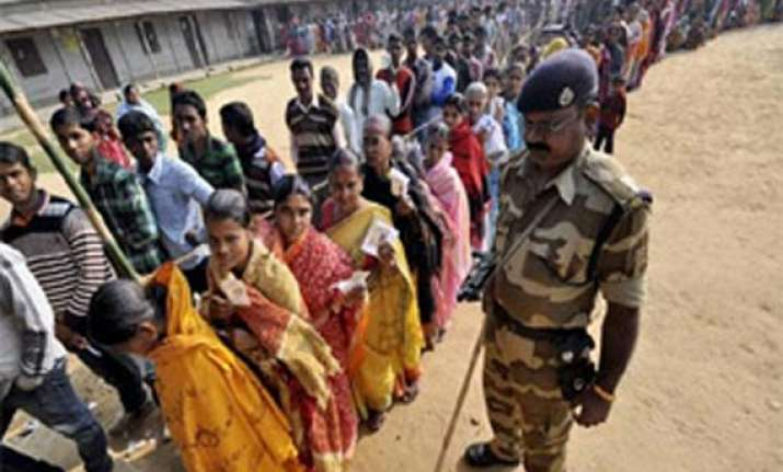 chhattisgarh polls voting in first phase begins amid high