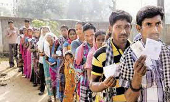 high voter turnout in chhattisgarh polling peaceful
