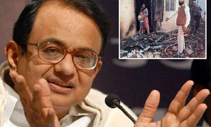 chidambaram seeks forgiveness from sikhs