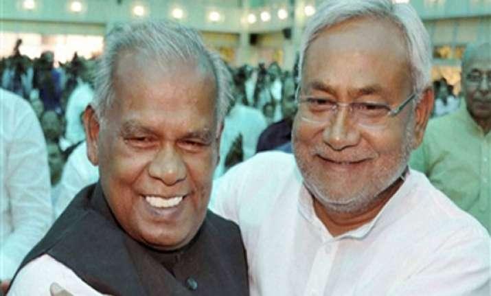 chief minister jitan ram manjhi wins trust vote in bihar