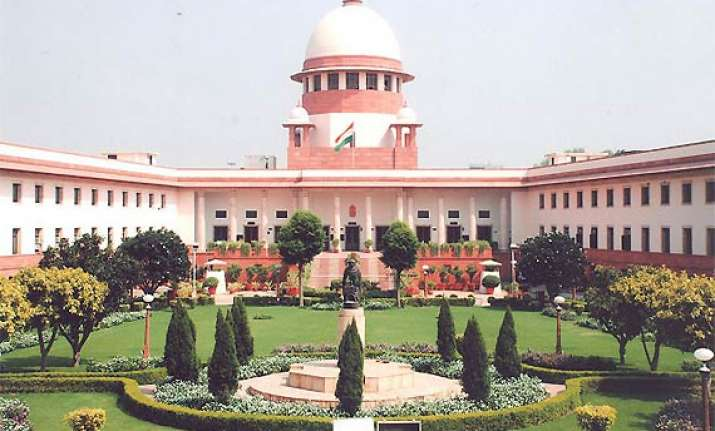 chief minister of a state has no power to allot land sc