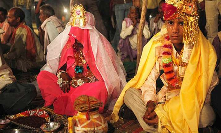 child marriage high in rural bihar jharkhand report