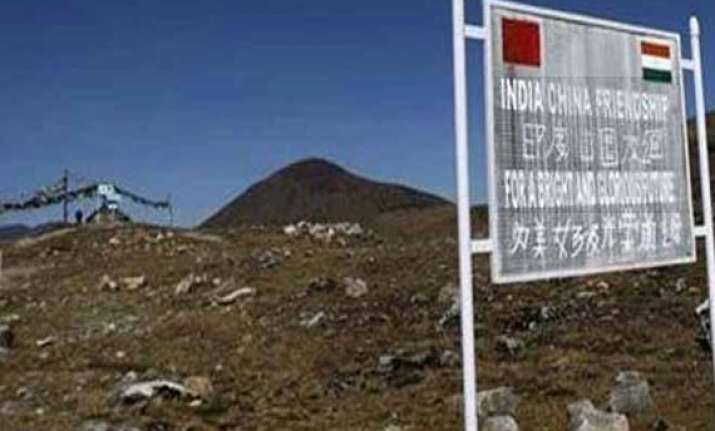 china builds road 5 km inside lac in ladakh