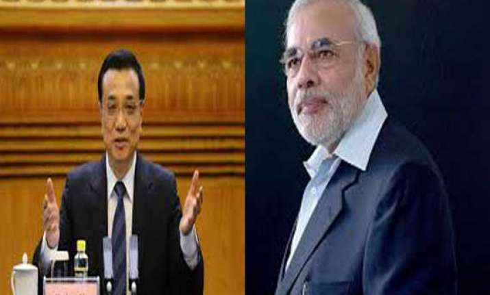 will deal with outstanding issues modi tells chinese pm