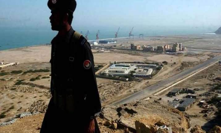 chinese presence at gwadar port is a matter of concern