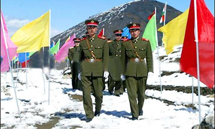 chinese troops intrude into arunachal stay for over two days