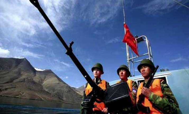 chinese troops make bids to enter indian waters in ladakh