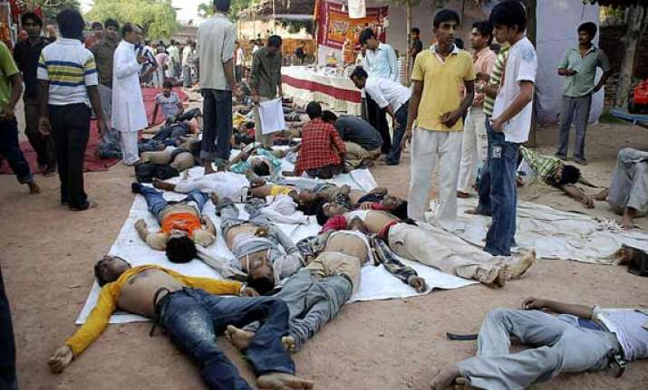 chitrakoot stampede cm announces rs 2 lakh for kin of those