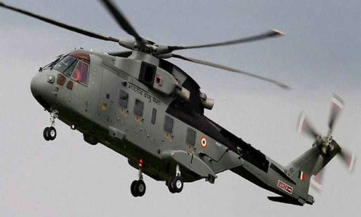 chopper deal cbi gets some papers from italy