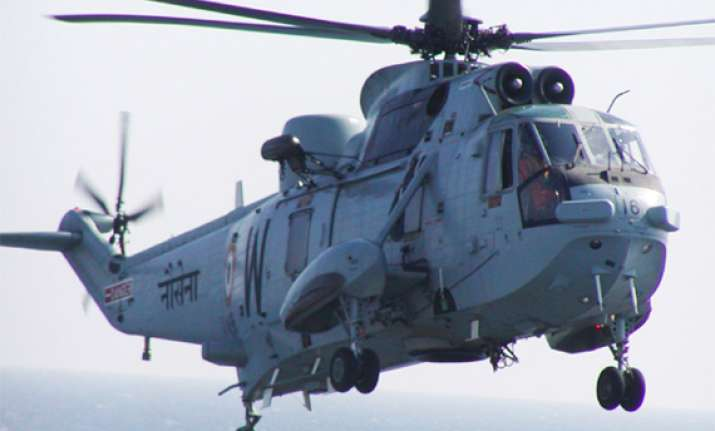 chopper makes emergency landing following technical problem