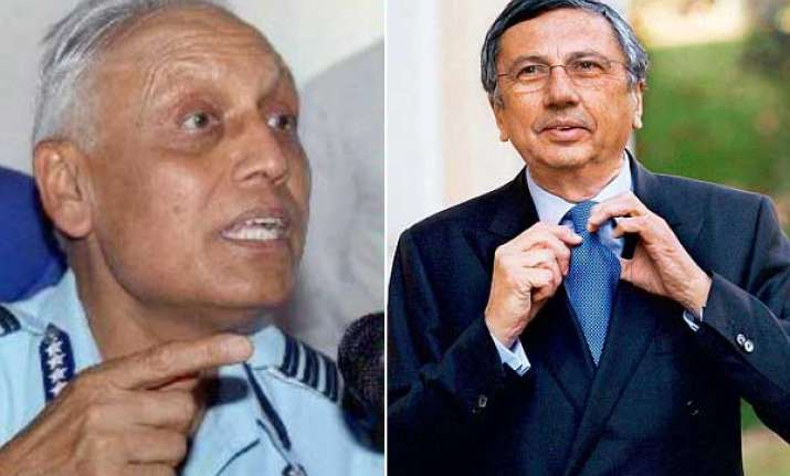 chopper scam italian middleman says he knew ex iaf chief