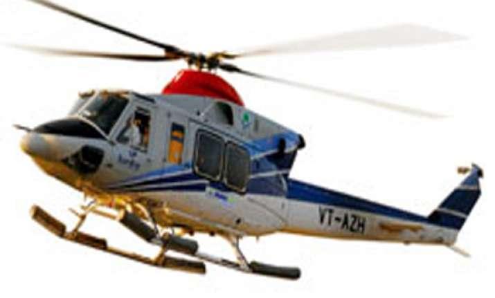 chopper that landed in ratnigiri belonged to global vectra