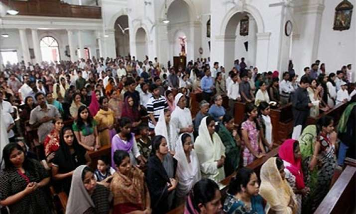 christians observe good friday in india