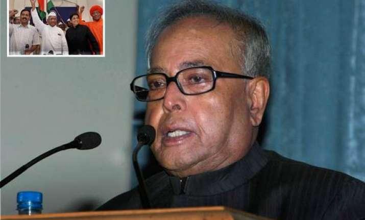 civil society leaders behaving like legislators pranab