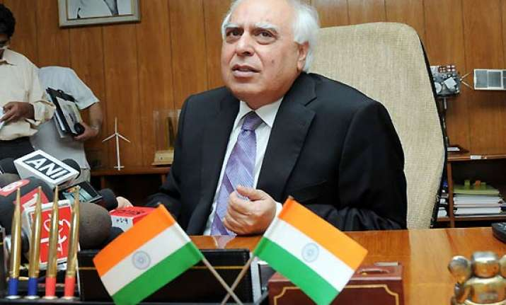 civil society not to be used again in drafting of law sibal