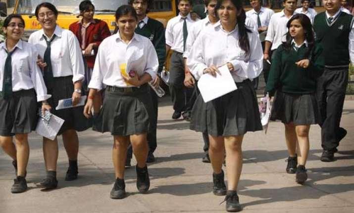 class xii cbse results for delhi dehradun declared girls