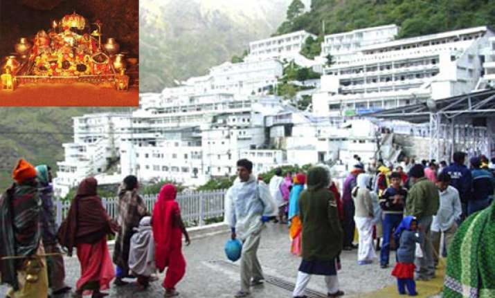 coconut bomb threat looming security tightened at vaishno