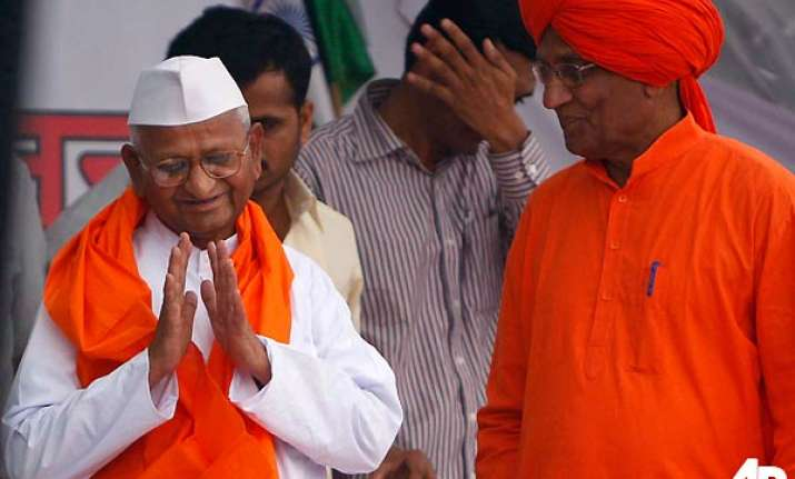 hazare rules out change in nominees in lokpal panel