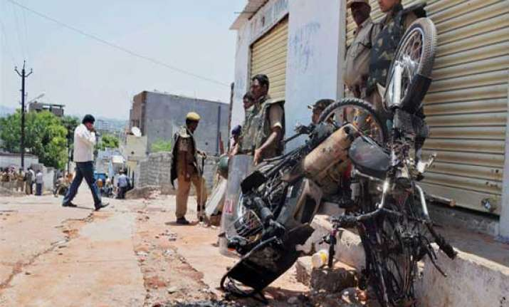 communal clash curfew continues in trouble hit areas