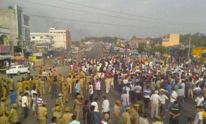 communal clash in jammu srinagar highway blocked briefly