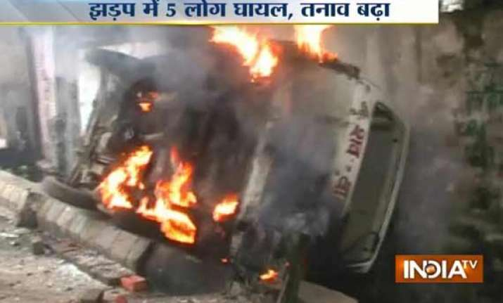 3 killed in clashes in saharanpur curfew clamped