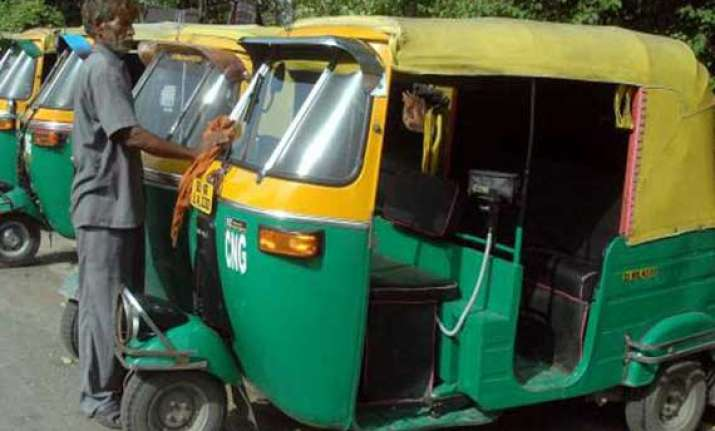 commuters face problems as autos stay off delhi roads