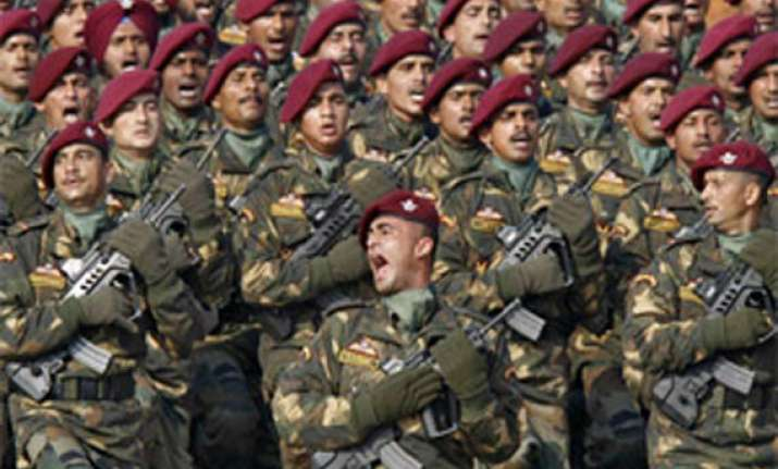 concern over shortage of personnel arms in indian army