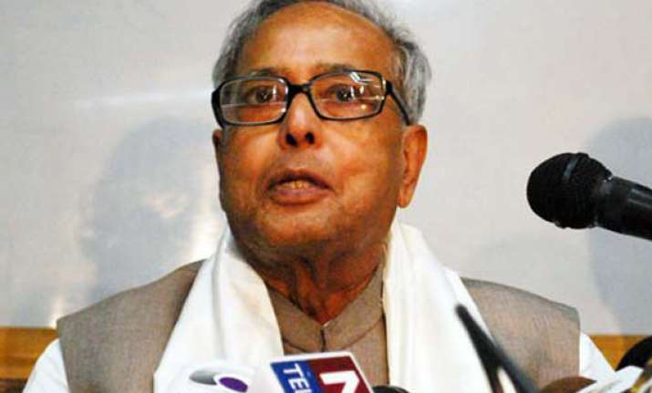 conducive atmosphere needed to tackle complex issues pranab