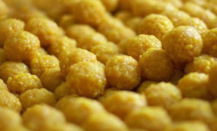 with victory in sight bjp orders 4000 kg of laddoos for