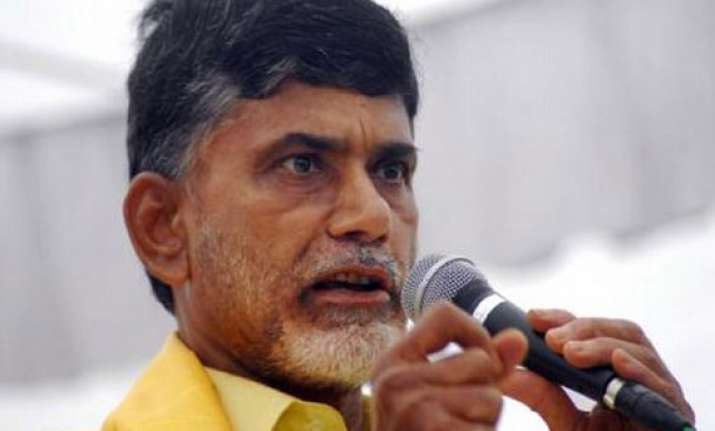 cong treated telangana issue as internal matter tdp to pm