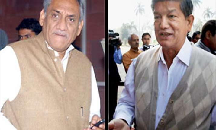 cong assures rawat of his due but rules out change of cm