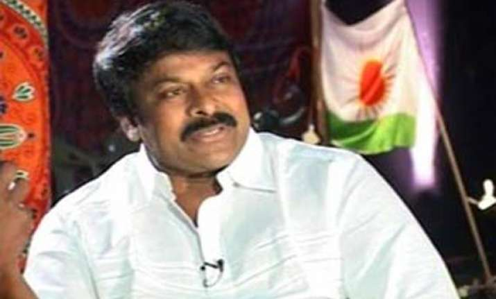 cong nominates chiranjeevi bjp announces 2 more from gujarat