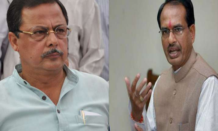 congress alleges poll code violation by bjp leaders in mp