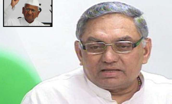 congress backs pm offer for dialogue on lokpal issue