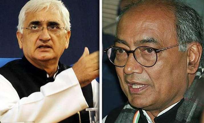 congress disowns khurshid s 9 percent muslim quota promise