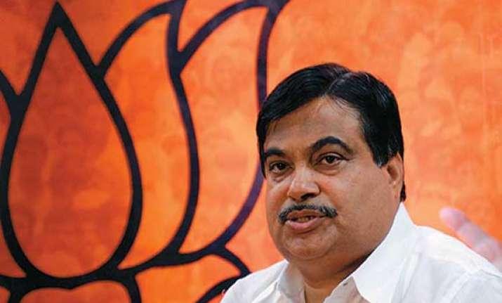 congress has made a mockery of lokpal gadkari