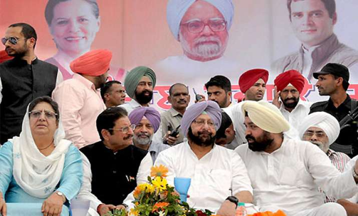 congress makes changes in punjab candidates list