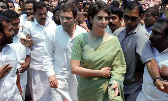 congress may look towards priyanka says new york times