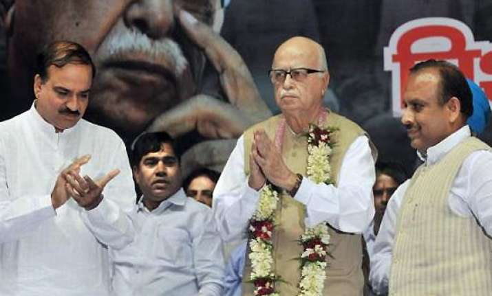 congress says advani wants fast foward mode