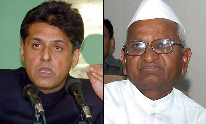 congress seeks clarification from anna hazare