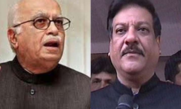 congress should not try to find scapegoats says advani