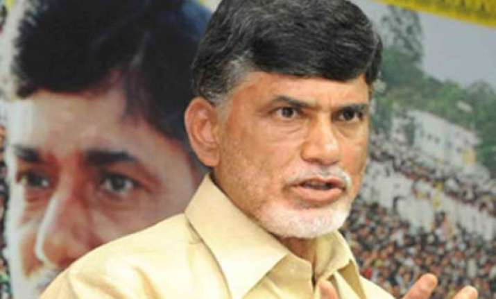 congress using telangana issue for political gains naidu