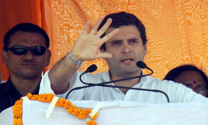 congress works for aam aadmi claims rahul gandhi